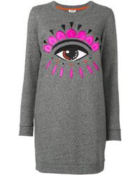 Kenzo Eyes Knitted Dress