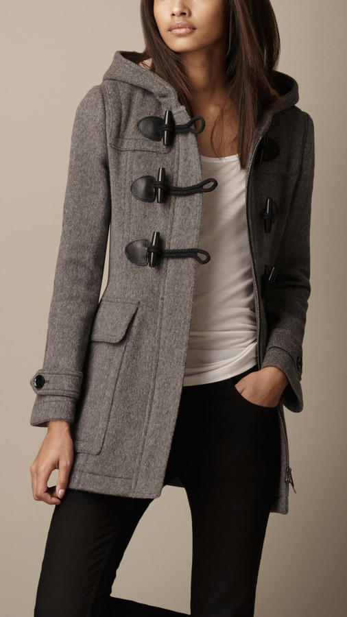 Burberry Fitted Duffle Coat   Where to buy & how to wear