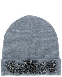 P.A.R.O.S.H. Embellished Ribbed Beanie