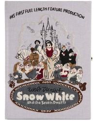 Le bon marche x the olympia le tan snow white clutch medium 286952