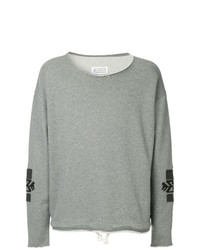 Maison Margiela Ethnic Embroidery Sweatshirt