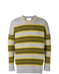 Pringle Of Scotland Fair Isle Long Sleeve Sweater