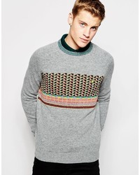 Lyle & Scott Sweater With Fair Isle Pattern