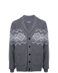 Michael Bastian Patterned Longline Cardigan