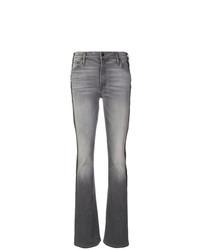Mother Contrast Stripe Jeans