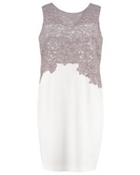Lauren Ralph Lauren Woman Cocktail Dress Party Dress Ivoryzinc