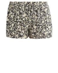 Even&Odd Shorts Blackyellow