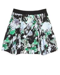 Milly Minis Girls Katie Floral Print Skirt
