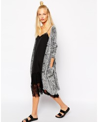 Monki oversized fluffy cardigan medium 190630