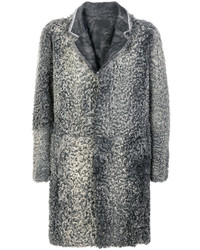 Grey fur coat original 10134528