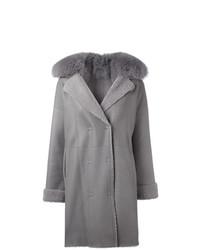 Guy Laroche Vintage Fur Collar Coat
