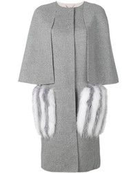 Fendi Fur Pocket Coat