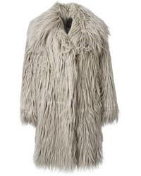 Lanvin Shaggy Faux Fur Coat