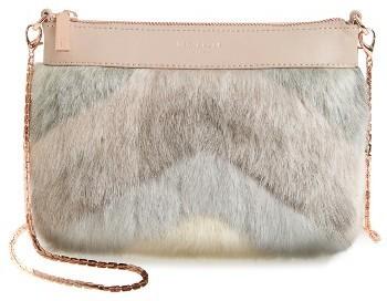 Ted Baker London Emmia Faux Fur Crossbody Bag Beige, £123 ... 7833e49c90