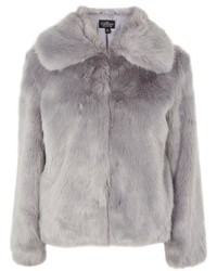 Grey Fur Jacket