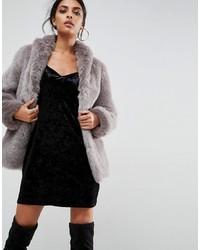 Coat in vintage faux fur medium 5409781