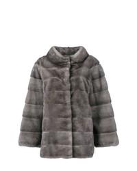 Liska Fur Padded Coat