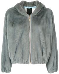 Liska fur zipped jacket medium 6458567