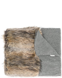 Stella McCartney Faux Fur Scarf