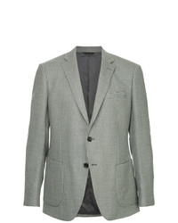 D'urban Micro Gingham Formal Blazer