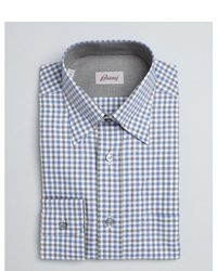 Grey Gingham Dress Shirt