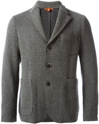 Barena Checked Blazer Jacket