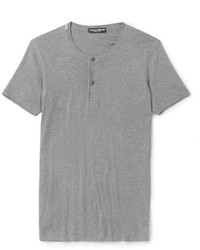 Grey Henley Shirt