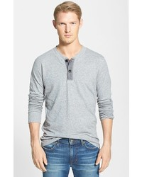 Grayers Double Cloth Modern Fit Henley