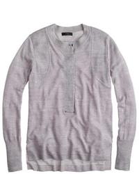J.Crew Grommet Henley Sweater