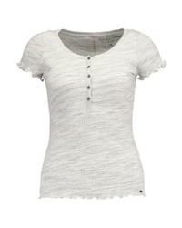 Hollister Co. Print T Shirt Grey