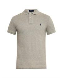 Slim fit cotton piqu polo shirt medium 232051