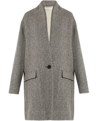 Isabel marant toile edilon herringbone coat medium 1316361