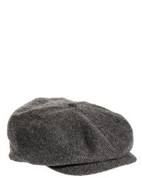 Brood flat cap grayblack medium 89515
