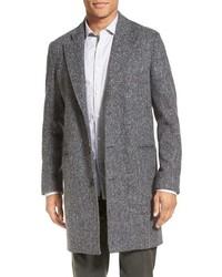 Billy Reid Charles Herringbone Single Breasted Coat
