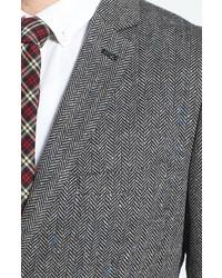 Topman Herringbone Sportcoat
