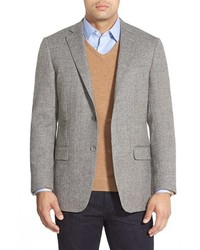 Hart Schaffner Marx New York Classic Fit Herringbone Sport Coat