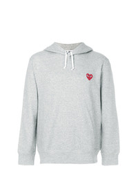 Comme Des Garcons Play Comme Des Garons Play Heart Logo Hoodie