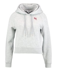 Tommy Hilfiger Gigi Hadid Graphic Cropped Sweatshirt Grey