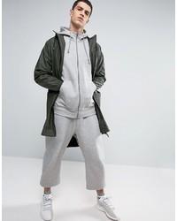 adidas Originals X By O Zip Up Hoodie In Gray Bq3090, £79