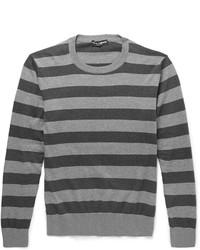 Striped cotton sweater medium 395418