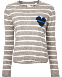 Striped sweater medium 156576