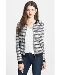 Boucl tweed bomber jacket medium 31267