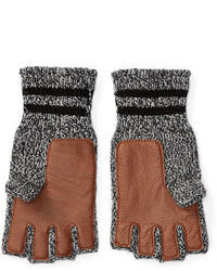 Polo Ralph Lauren Ragg Wool Fingerless Gloves