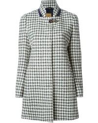 Grey Houndstooth Coat