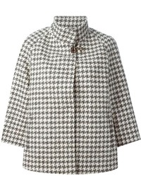 Fay Houndstooth Coat