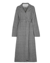 Gabriela Hearst Souza Belted Houndstooth Cashmere Blend Coat