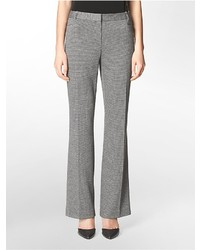 Grey Houndstooth Dress Pants