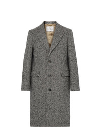 Salle Privée Adrian Houndstooth Wool Blend Overcoat