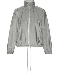 Hooded shell jacket gray medium 1152645