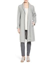 Eileen Fisher Long Organic Linen Jacket